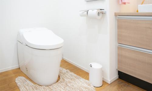 トイレ,壁紙,白
