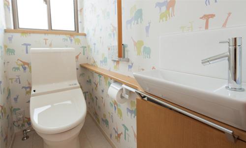 トイレ,壁紙,クロス