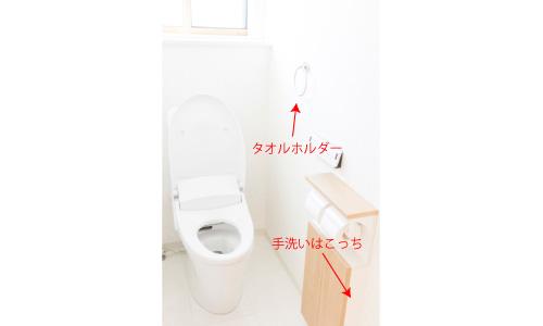 タオルホルダー,手洗い,位置