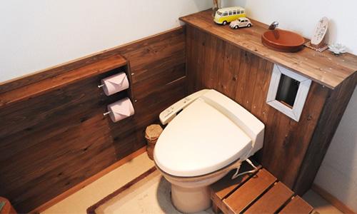 トイレ,内装